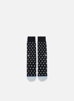 Stance - Gamma Crew Socks, Black 1