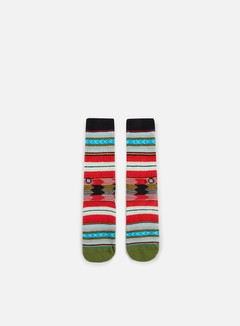 Stance - Guadalupe Crew Socks, Black 1