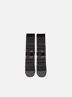 Stance - Guadalupe Crew Socks, Charcoal