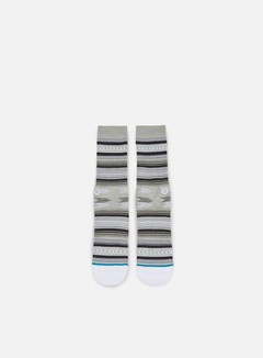 Stance - Guadalupe Crew Socks, Grey