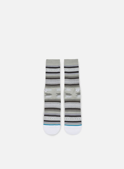 accessori stance guadalupe crew socks grey