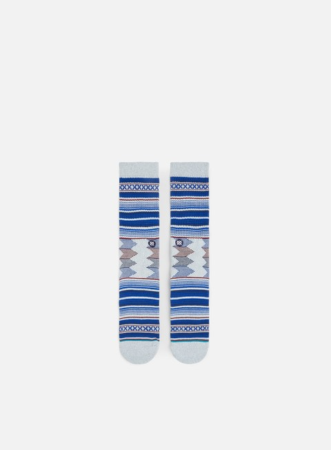accessori stance guadalupe crew socks heather grey