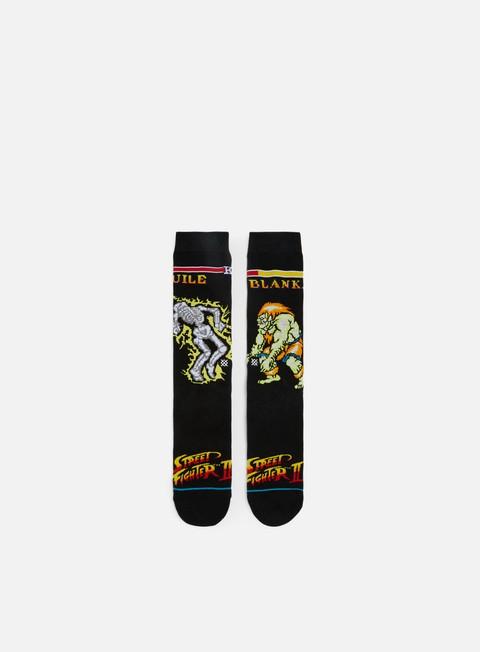 accessori stance guile vs blanka crew socks black