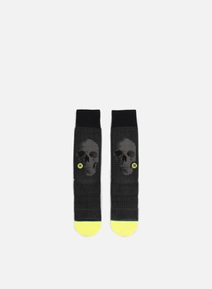 Stance - Halftone Crew Socks, Black 1