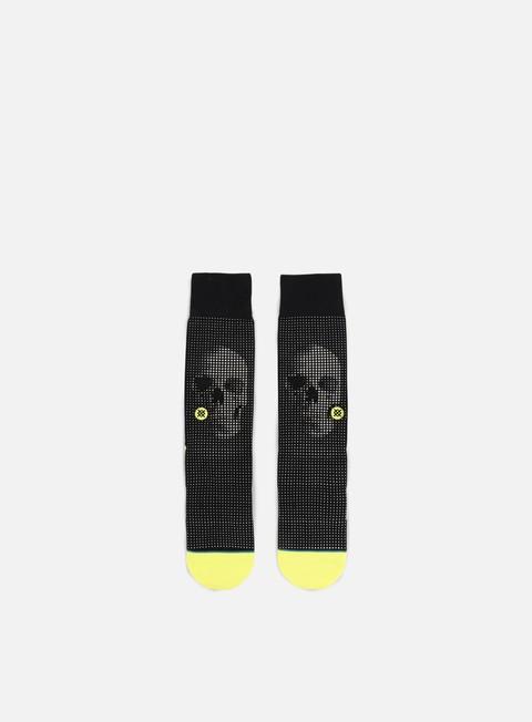 accessori stance halftone crew socks black