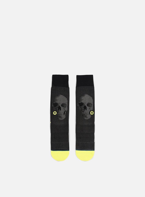 Stance - Halftone Crew Socks, Black