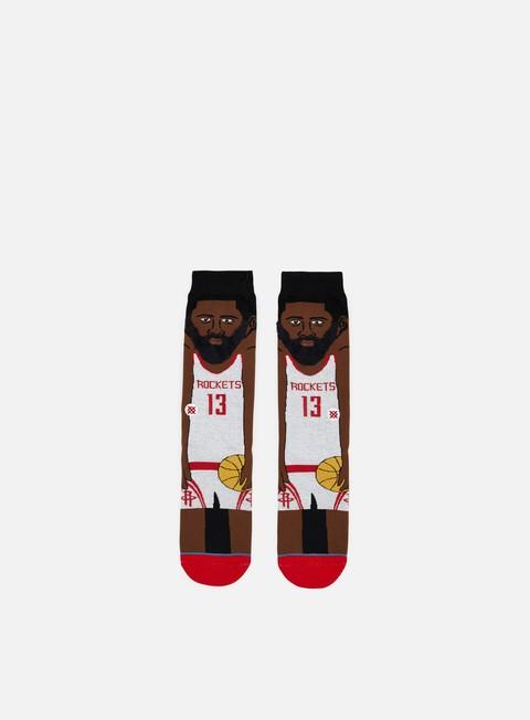 Stance Harden NBA Cartoons Crew Socks