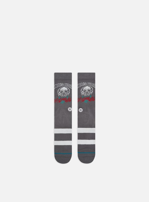 Calze Stance Harley Roses Are Red Crew Socks