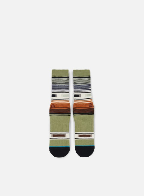 accessori stance hatchets crew socks green