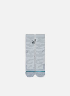 Stance - Heat Snow Crew Socks, Grey 1