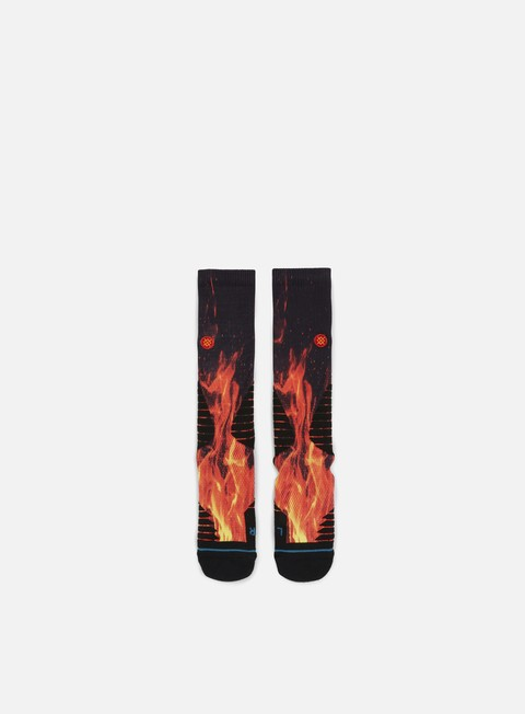 accessori stance inferno fusion basketball crew socks black