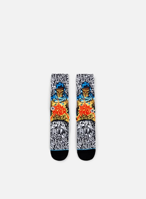 accessori stance knox skate legends crew socks black