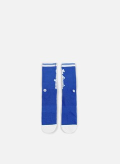 Stance - LA Lakers HWC Crew Socks, Blue 1