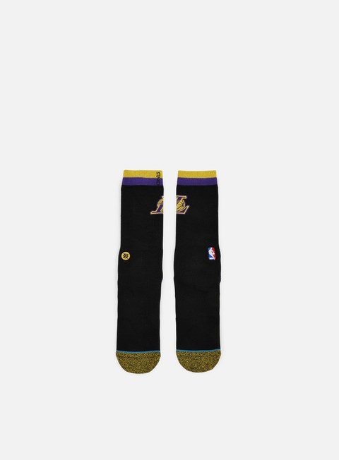 accessori stance lakers arena logo crew socks black