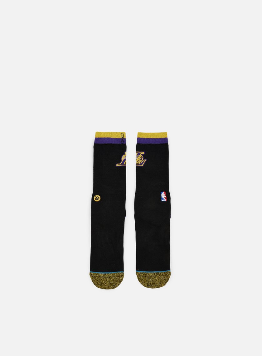 Stance - Lakers Arena Logo Crew Socks, Black