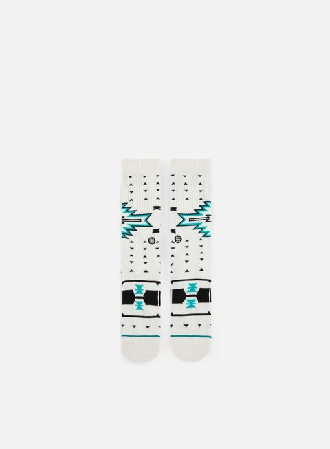 accessori stance leckey crew socks white