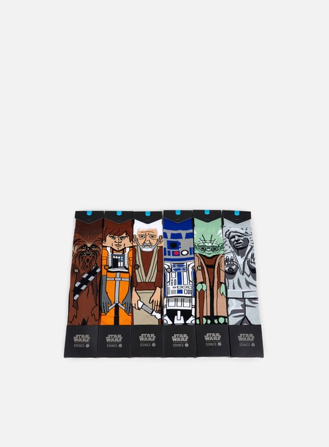 accessori stance light side star wars 6 socks box