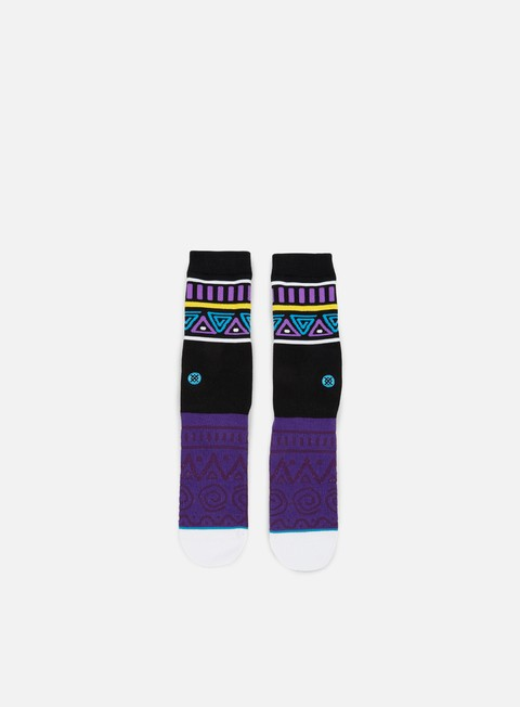 accessori stance major always fresh anthem crew socks purple