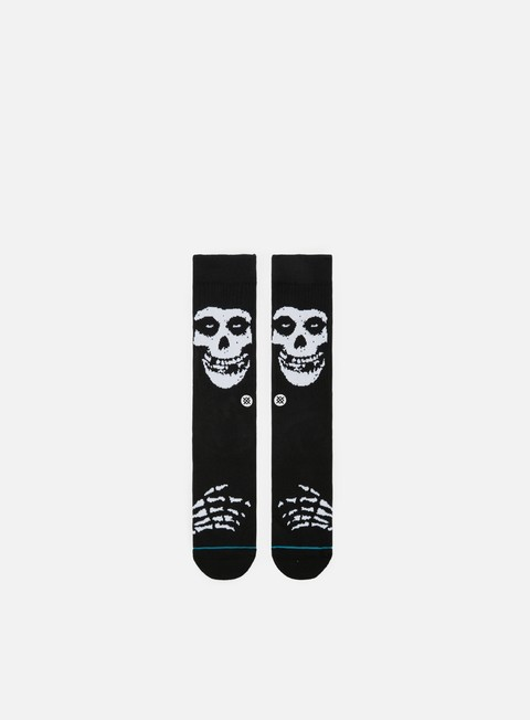 accessori stance misfits crew socks black