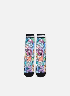 Stance - Monster Party Sub Kevin Lyons Crew Socks, Multi 1