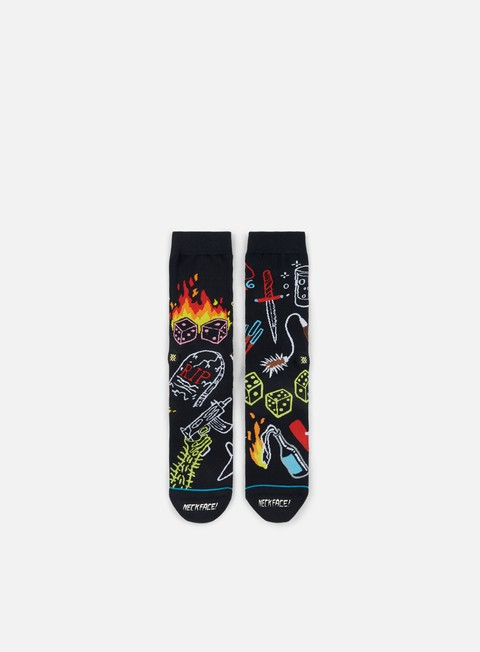 accessori stance neckface snake eyes crew socks black