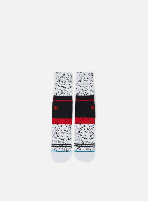accessori stance nero crew socks white