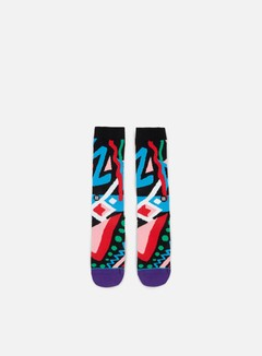Stance - New Jack Always Fresh Anthem Crew Socks, Multicolor 1