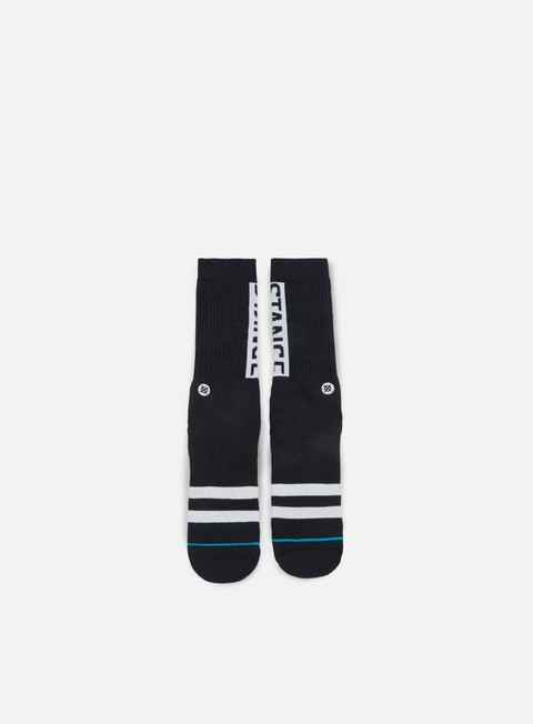 accessori stance og crew socks black