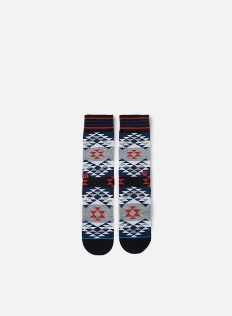 accessori stance old mans crew socks blue