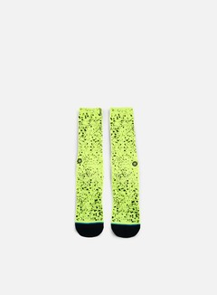 Stance - Overspray Anthem Crew Socks, Green 1