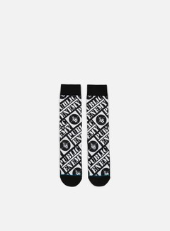 Stance - Public Enemy Anthem Crew Socks, Black 1