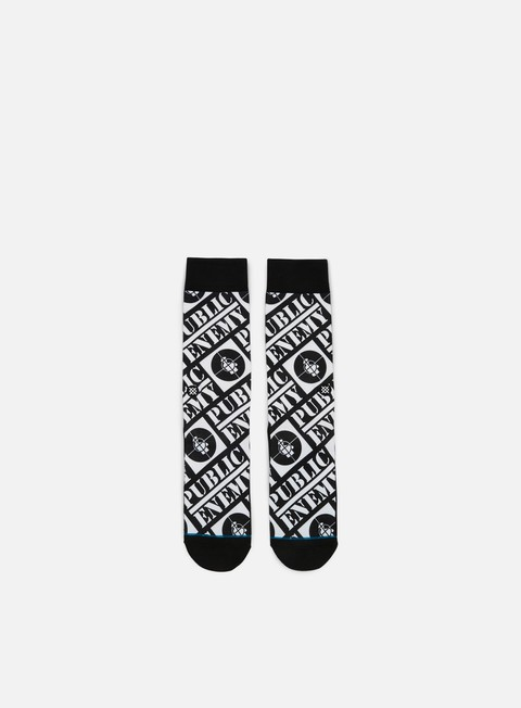 accessori stance public enemy anthem crew socks black