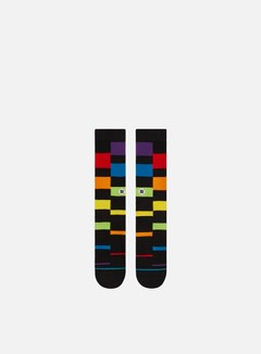 Stance Rainbow Stripe Crew Socks