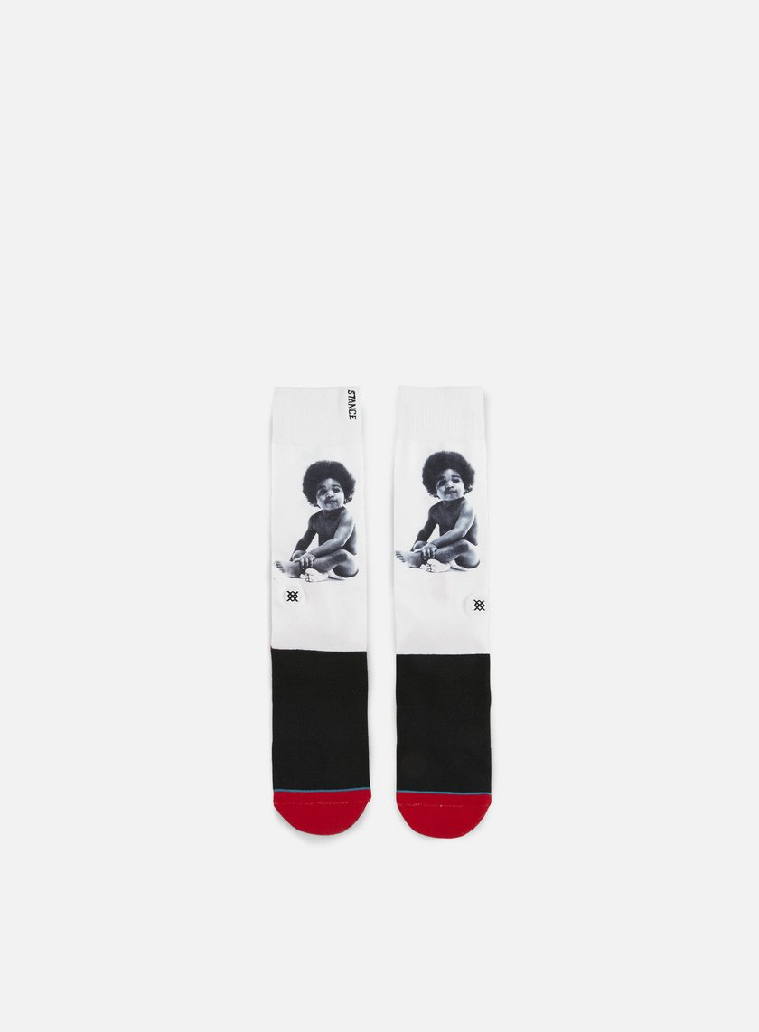 Stance - Ready To Die Anthem Crew Socks, Black