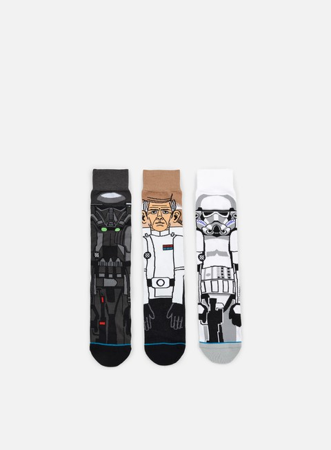 Outlet e Saldi Calze Stance Rogue One Star Wars 3 Socks Pack