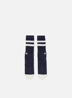Stance - Salty Pastel Pack Crew Socks, Navy 1