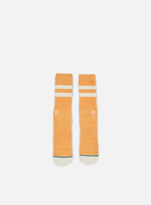 accessori stance salty pastel pack crew socks orange