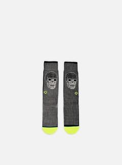 Stance - Skull Frame Crew Socks, Black 1