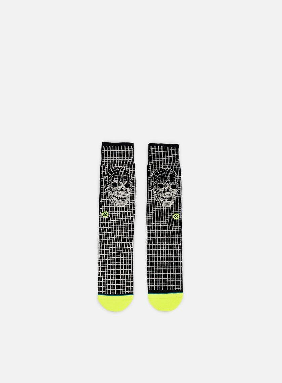 Stance - Skull Frame Crew Socks, Black