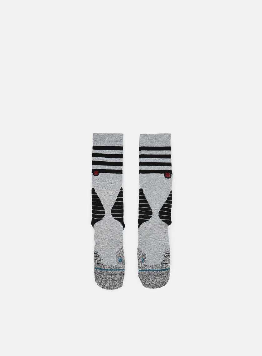 Stance - Speedway V3Fusion Basketball Crew Socks, Grey Heather