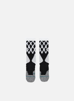 Stance - Swish Fusion Basketball Crew Socks, Black 1