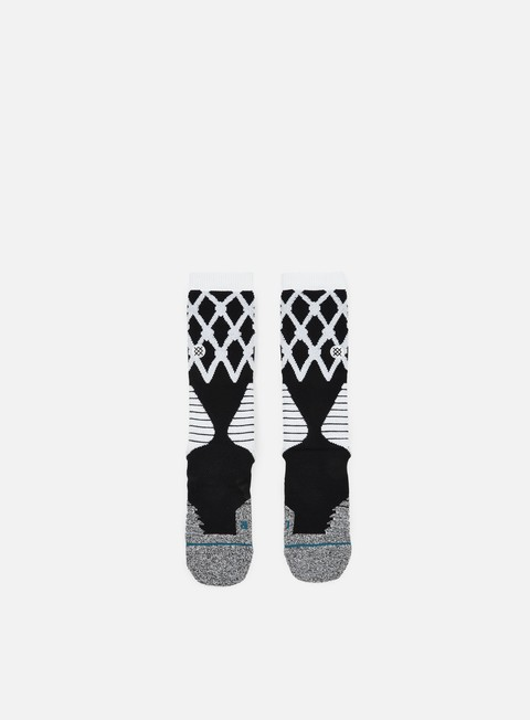 accessori stance swish fusion basketball crew socks black