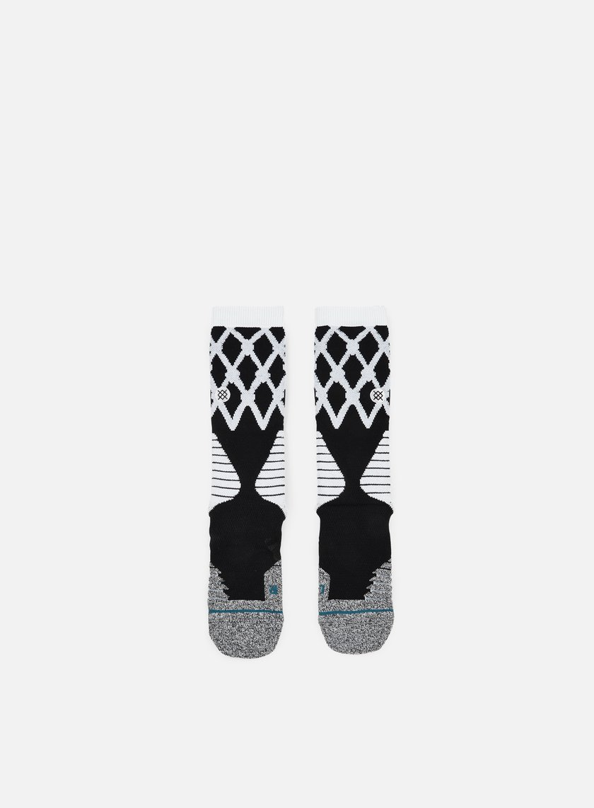 Stance - Swish Fusion Basketball Crew Socks, Black