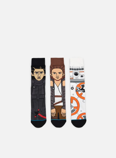 accessori stance the force awakens star wars 3 socks pack