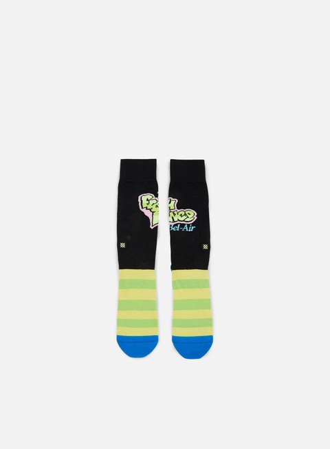accessori stance the fresh prince always fresh anthem crew socks yellow