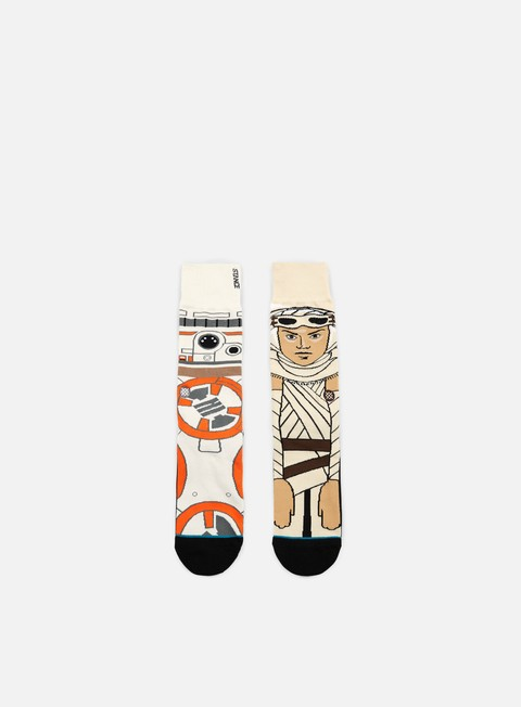 accessori stance the resistance star wars socks tan