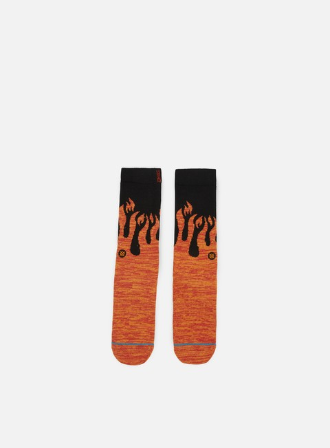 accessori stance torch anthem crew socks orange