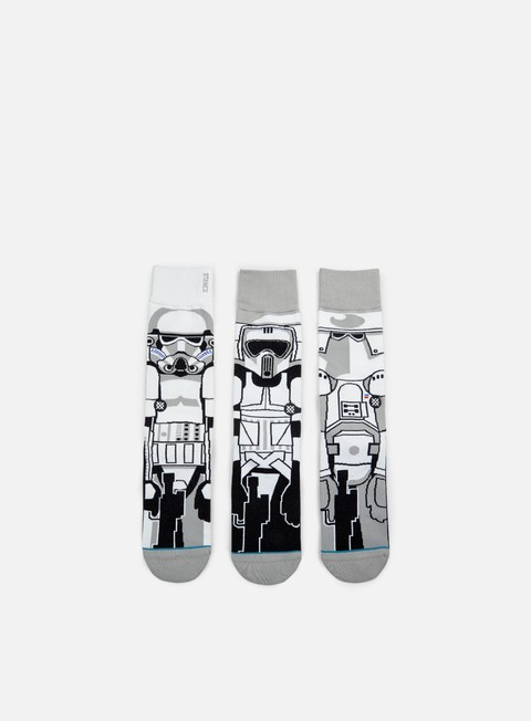 accessori stance trooper star wars 3 pieces socks white