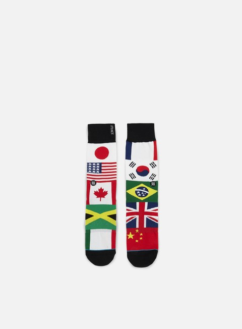 accessori stance united anthem crew socks multi