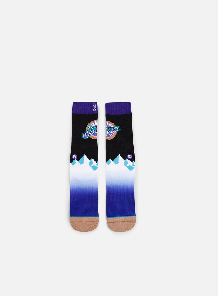 Stance - Utah Jazz HWC Crew Socks, Black